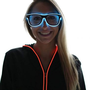 Light Up El Wire Glasses