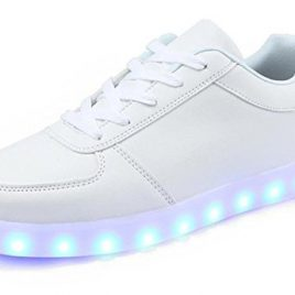 Unisex USB Charging 7 Colors LED Sport Shoes Flashing Fashion Sneakers Light Up Sport Shoes