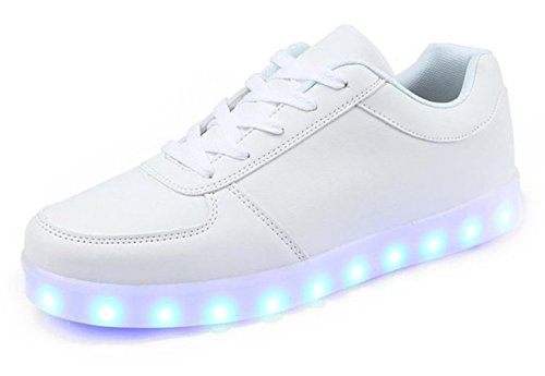 Unisex USB Charging 7 Colors LED Sport Shoes Flashing Fashio