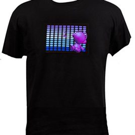 Sound Activated Shirt Beat to the Music Light Up T-shirt