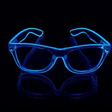 Light Up Shutter Glasses El Wire Glasses for party/Festival