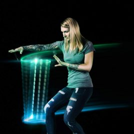 Flow Levitation Wand – Spinning Light LED Toy