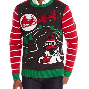 The Ugly Christmas Sweater Kit Men's Radical Polar Bro