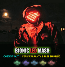 Bionic-LED-Mask