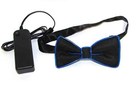 example el wire bow tie