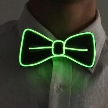 green-el-wire-bow-tie