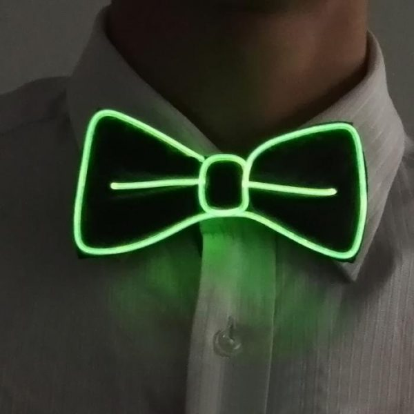green-el-wire-bow-tie