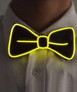 yellow-el-wire-bow-tie