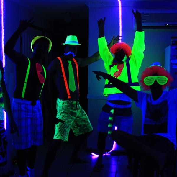 Glow In The Dark Party Clothes