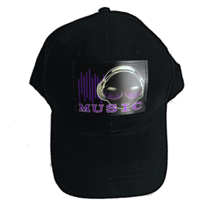 Sound Activated Music Headphone light up HAT
