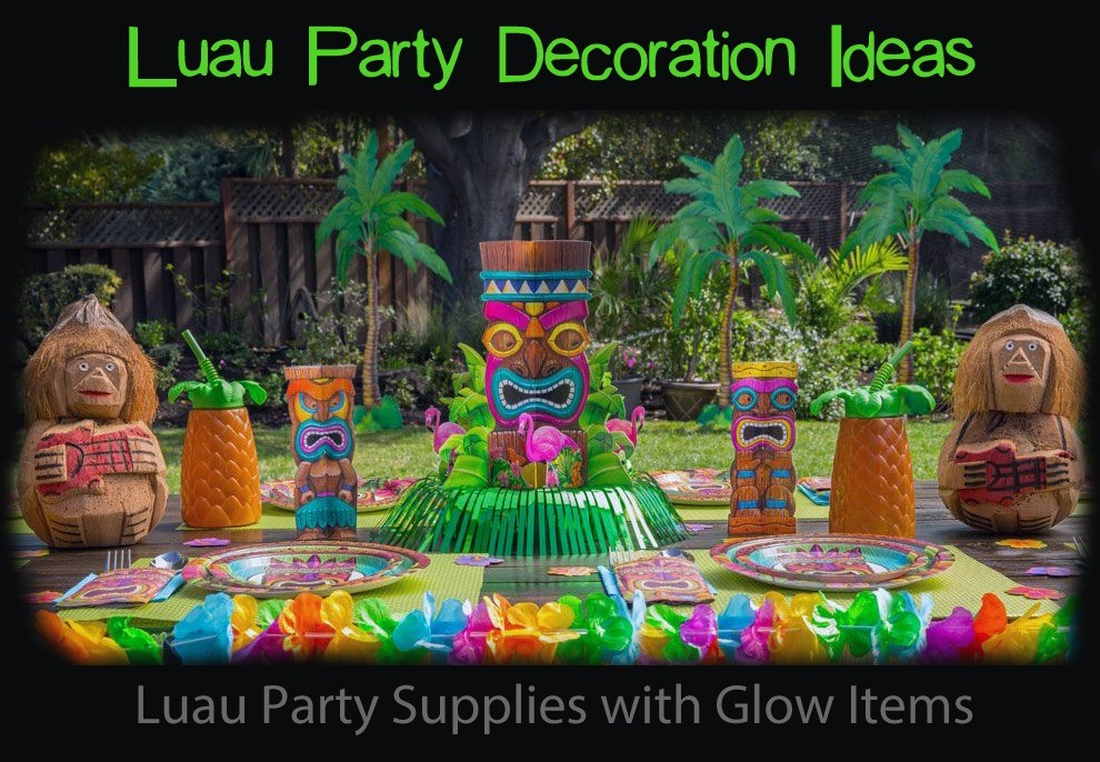 Luau Party Supplies