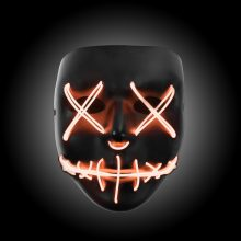 orange light up purge mask