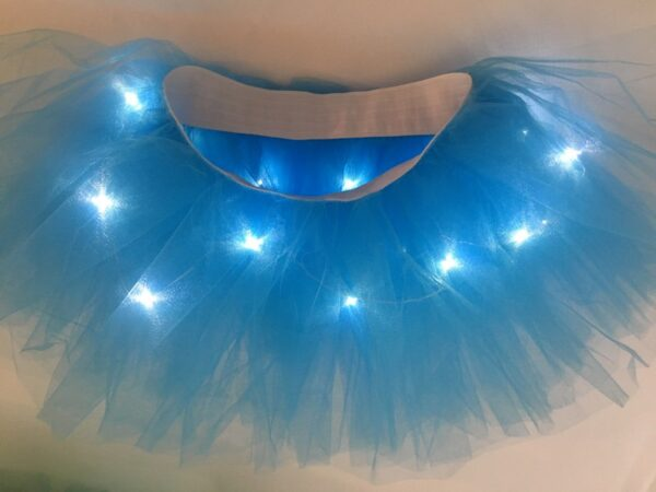 light up tutu blue 2