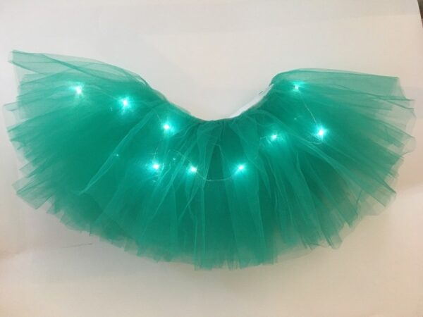 light up tutu green 2
