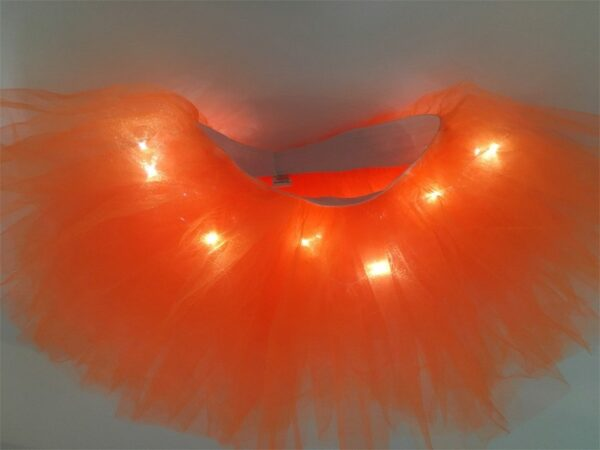 light up tutu orange 2