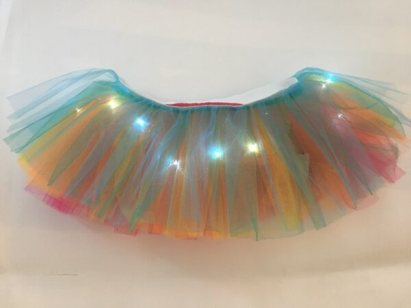 light up tutu rinbow 2