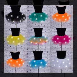 light up tutu skirt
