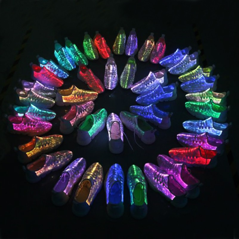 fiber optic light up shoes