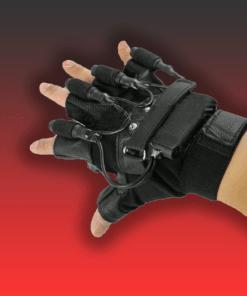 laser glove display