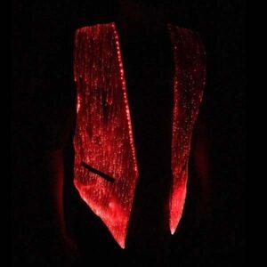 light up vest red
