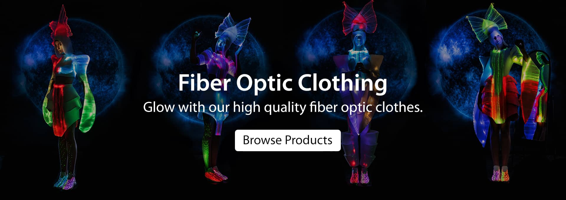 Browse Fiber Optic Clothing Products